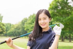 美人ゴルファーのイメージ